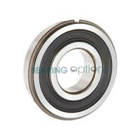 6207 2RS Rubber Sealed NR Circlip Bearing 35mm X 72mm X 17mm