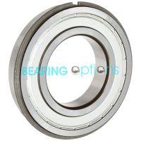 6207 ZZ Metal Shielded NR Circlip Bearing 35mm X 72mm X 17mm