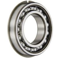 6306 Open Non Sealed NR Circlip Bearing 30mm X 72mm X 19mm