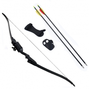 Petron Stealth Medium Leisure Bow Archery Kit With Extra Arrows /& Bow String